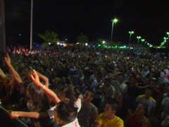 summer concert on the boardwalk in Gioia  - villa rental - Villetta Mimma Vittoria - Gioia Tauro - Calabria - Italy