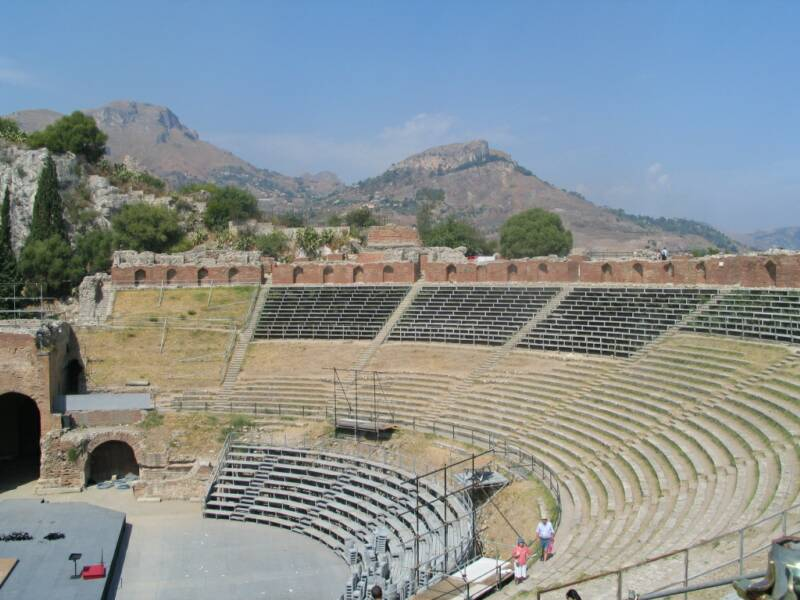 Taormina sicily -  Greek Theatre - 1.5 hrs drive from villetta mimma vittoria