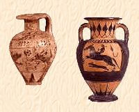 vases discovered when gioia was a Greek colony  - villa rental - Villetta Mimma Vittoria - Gioia Tauro - Calabria - Italy