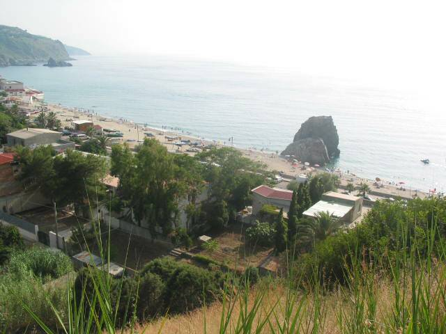 Palmi beach 15 minutes from the villetta by car